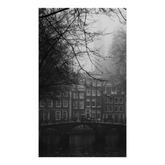 Old Amsterdam Poster
