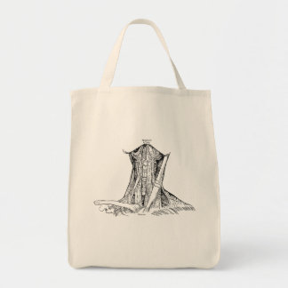 Old Anatomy Illustration Muscles Of The Neck Tote Bag