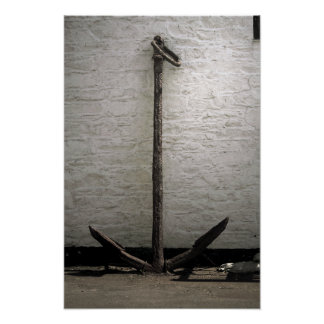 Old Anchor Isle of Whithorn Canvas Print