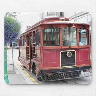 Old Anchorage trolley, Alaska Mouse Pad