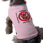 Old and Grouchy - Do Not Pet Doggie Tee Shirt