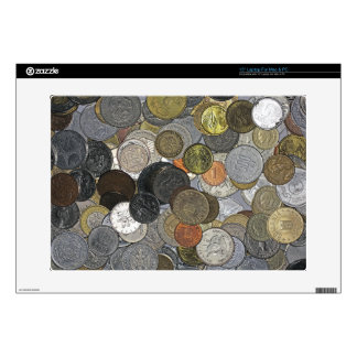 Old and international coins skins for laptops