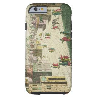 Old and New Delhi (aquatint) iPhone 6 Case