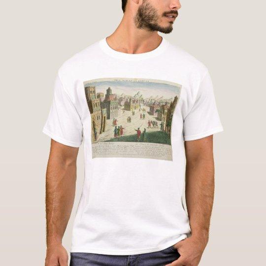 Old and New Delhi (aquatint) T-Shirt