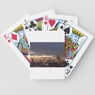 old and new Paris Bicycle Playing Cards