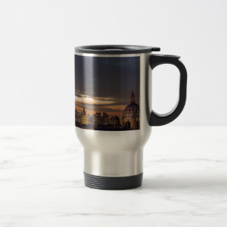 old and new Paris 15 Oz Stainless Steel Travel Mug
