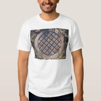 Old and rusty manhole T-Shirt