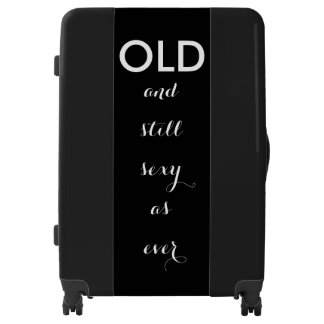 Old and Still Sexy as Ever Luggage