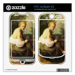 Old and young woman by Rembrandt HTC myTouch 4G Skin
