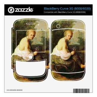 Old and young woman by Rembrandt BlackBerry Curve 3G Skin