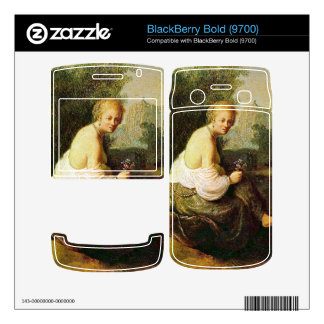 Old and young woman by Rembrandt BlackBerry Bold Decals