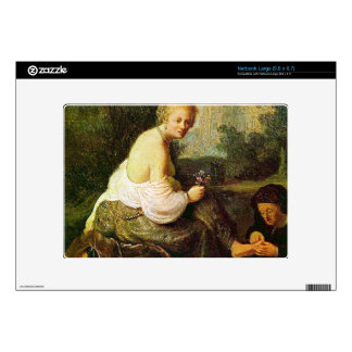 Old and young woman by Rembrandt Skins For Netbooks