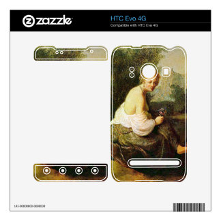 Old and young woman by Rembrandt Skins For HTC Evo 4G