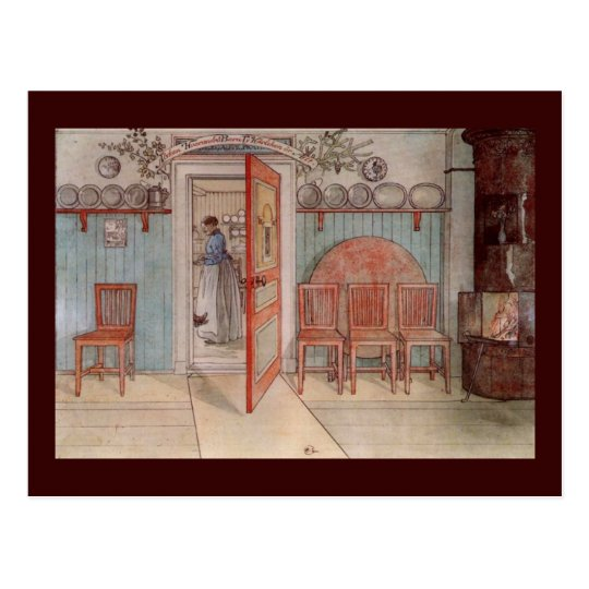 Old Anna (in the Kitchen) Postcard