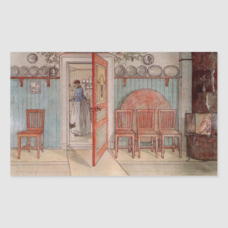 Old Anna (in the Kitchen) Rectangular Sticker