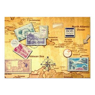 Old Antilles chart Card