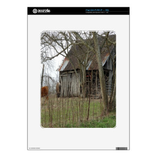 Old Antique Barn Skin For iPad