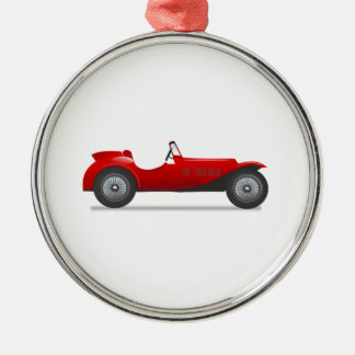Old Antique Sports Car Christmas Ornament