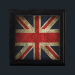 "Old Antique UK British Union Jack Flag Gift Box<br><div class=""desc"">Old Antique style UK British Union Jack Flag Pillow. Great for the decor of any anglophile,  particularly in a antique setting.  See all our products in our British Gift Ideas Category.</div>"