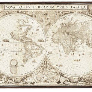 Old world map gift boxes keepsake boxes zazzle old antique world map gift box gumiabroncs Image collections