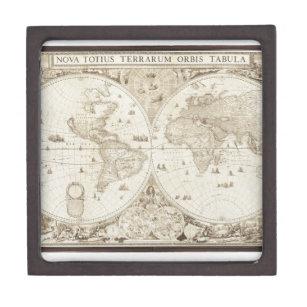 Old world map gift boxes keepsake boxes zazzle old antique world map gift box gumiabroncs Images