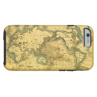 Old Antique World Map iPhone 6 Case