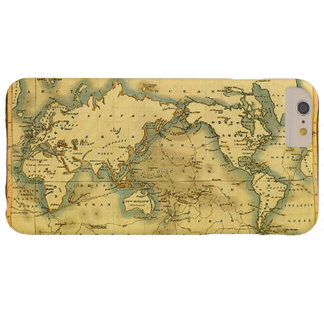 Old Antique World Map iPhone 6 Plus Case