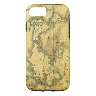 Old Antique World Map iPhone 8/7 Case