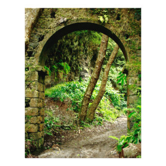 """Old arch 8.5"""" x 11"""" flyer"""