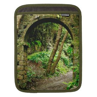 Old arch iPad sleeve