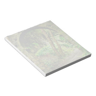 Old arch note pad