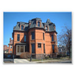 Old Architectural Home in Buffalo NY Photo Print
