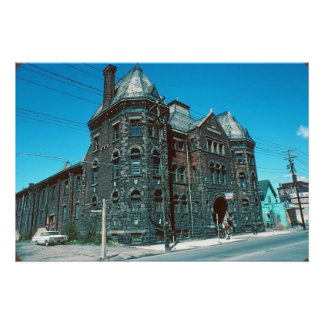 Old Armory Wilkes-Barre Pa. Poster