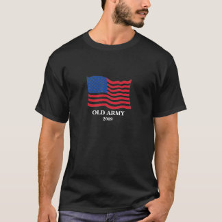 Old Army United States American Flag Tshirt shirt