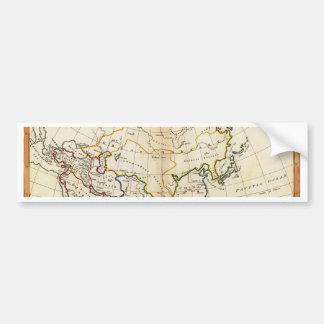 Old Asia map 1799 Bumper Sticker