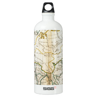Old Asia map 1799 Water Bottle