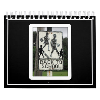 Old Back To School Sign Calendar