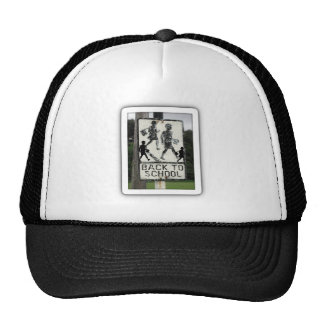 Old Back To School Sign Trucker Hat