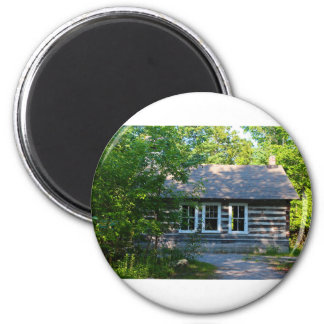 Old Bailey Schoolhouse 2 Inch Round Magnet