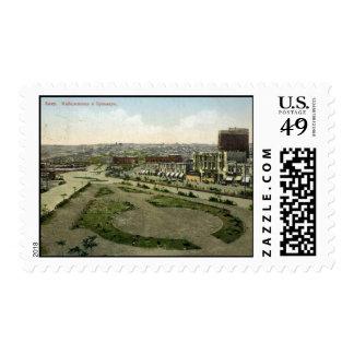 Old Baku - Quay & Boulevard Postage Stamp