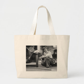 Old Baldy, 1922 Tote Bags