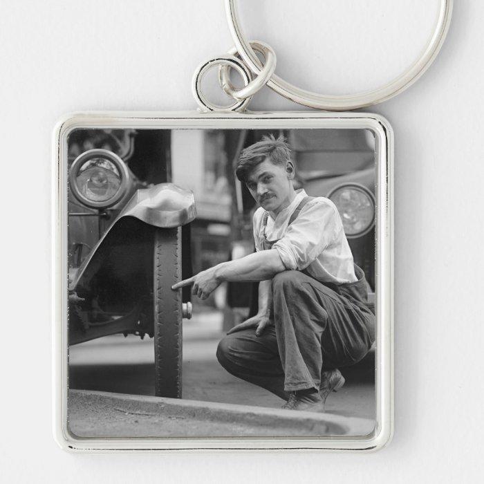 Old Baldy, 1922 Keychain