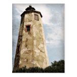 """Old Baldy"" Lighthouse Postcard"