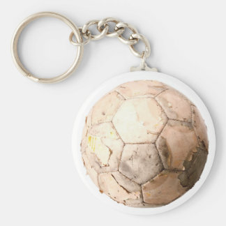 Old Ball Keychain