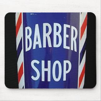 old barber shop sign mouse pad