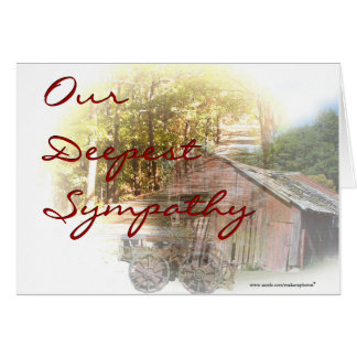 Old Barn and Tractor - customize-any occasion Card