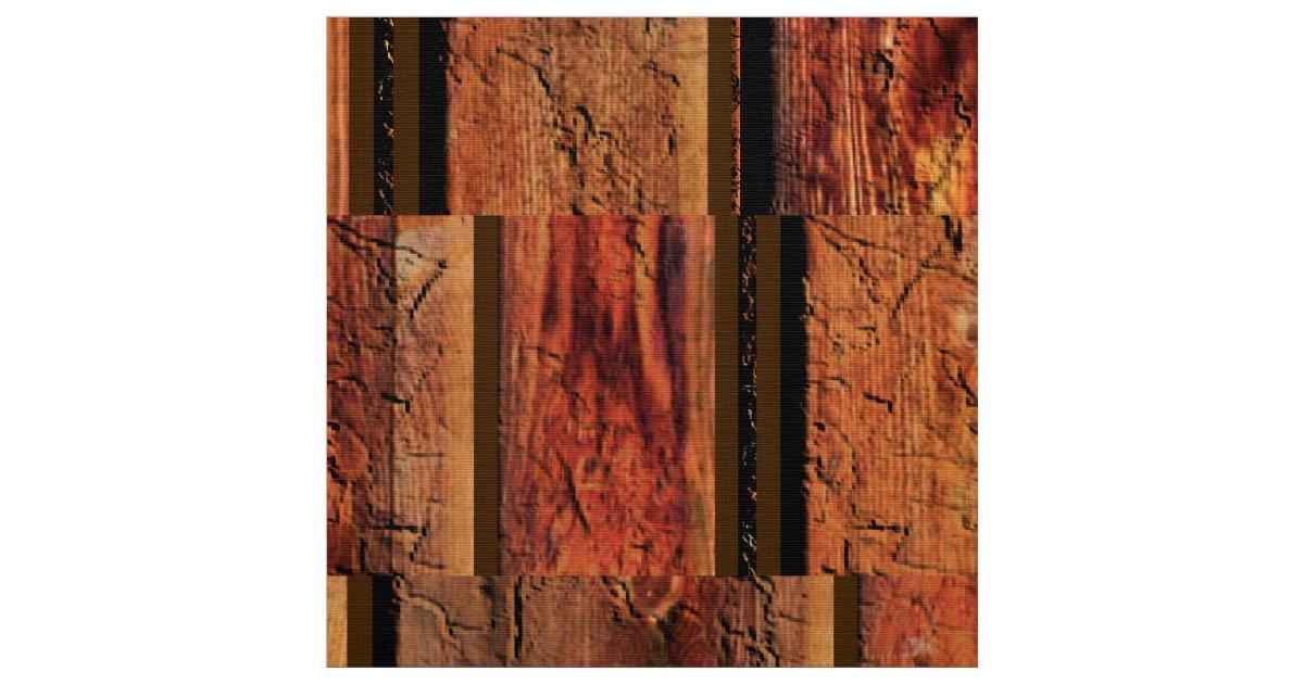Rustic Man Cave Utrecht : Old barn board look rustic man cave fabric zazzle