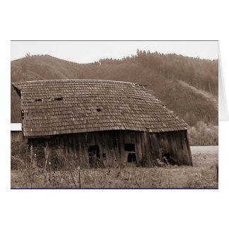 Old Barn Card