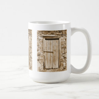 OLD BARN DOOR COFFEE MUG