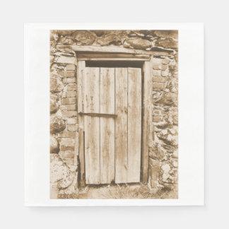 OLD BARN DOOR NAPKIN